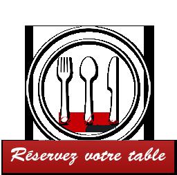Réserver votre table